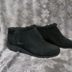 Cole Haan Fur Lined Ankle Boot